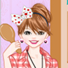 At home dress up game