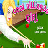 Cool Billiards Girl