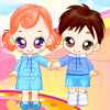 Dressup Twin Babys
