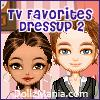TV Favorites Dressup Game 2 - Greekie